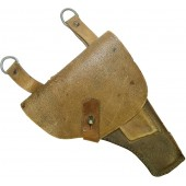 Soviet pistol TT-33 Tokarev leather pebbled holster
