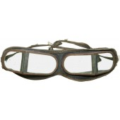 Soviet RKKA pre-war issue protective glasses for armored and automotive troops