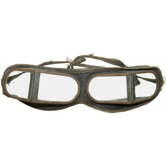 Soviet RKKA pre-war issue protective glasses for armored and automotive troops. Espenlaub militaria