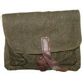Soviet Russian grenade pouch for F-1 or RG-42 type grenades, canvas, 1941
