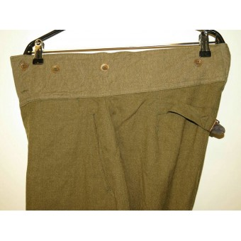 WW2 RKKA factory issue US wool made breeches. Espenlaub militaria