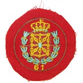 Division Azul, breast patch for spanish falangists