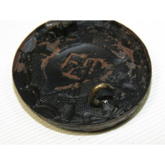 German Black wound badge 1939. Espenlaub militaria