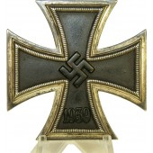 Iron cross 1939 first class by Wilhelm Deumer, L/11