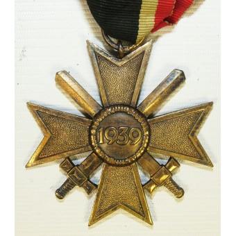KVK 2  War Merit cross 64 marked by Gottlieb Friedrich Keck & Sohn. Espenlaub militaria