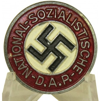 M 1/17 RZM NSDAP Memberbadge in zinc. Excellent condition badge made by Assmann & Söhne. Espenlaub militaria