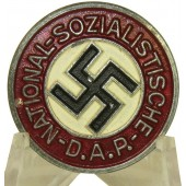 M 1/17 RZM NSDAP Memberbadge in zinc. Excellent condition badge made by Assmann & Söhne