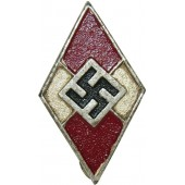 M 1/185 marked Hitler Jugend HJ member badge zinc