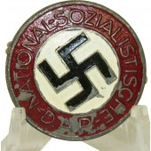 M1/27 RZM WW2 issue NSDAP member badge - E. L. Muller- Zinc