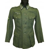 M41 Wehrmacht Heer tunic for Feldwebel of 99 GJR.