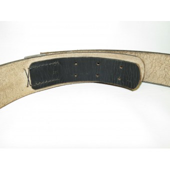 NSDAP formations leather belt for heavy duty. Shortened, current size 95 cm. Espenlaub militaria