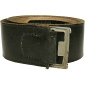 NSDAP formations leather belt for heavy duty. Shortened, current size 95 cm
