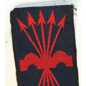 Spanish Falangist Uniform Patch - Franco Fascist, post war issue.. Espenlaub militaria