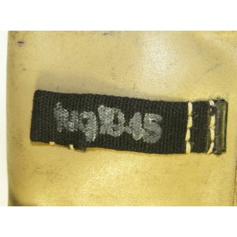 Waffen SS or Wehrmacht fuq 1945 marked G 43 semi-automatic rifle ammo pouches. Espenlaub militaria