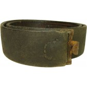 Wehrmacht Heer, Luftwaffe or Waffen SS combat leather belt