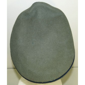 Wehrmacht Heer Medical service visor hat for NCOs.. Espenlaub militaria
