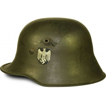 Wehrmacht Heer single decal Pocher type decal M 18 steel helmet Si 62