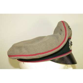 "Wehrmacht Heer Veterinary or Headquarter ""Alter-Art"" crusher hat.. Espenlaub militaria"