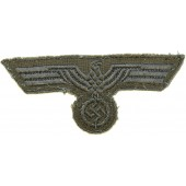 WW2 German M 44 machine woven breast eagle