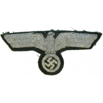 WW2 Wehrmacht  Heer hand embroidered breast eagle. Espenlaub militaria