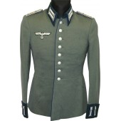 3rd Reich Wehrmacht parade tunic, Waffenrock, rank - Stabsarzt