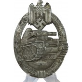 3rd Reich Tank Assault Badge in bronze