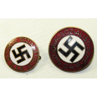 German National Socialist Labor Party member badge, NSDAP, early type. Espenlaub militaria