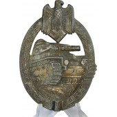 Panzerkampfabzeichen in Bronze, Tank Assault Badge in bronze, marked HA