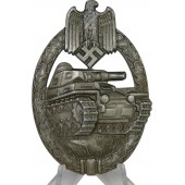 Tank Assault Badge in bronze, solid, Karl Wurster.