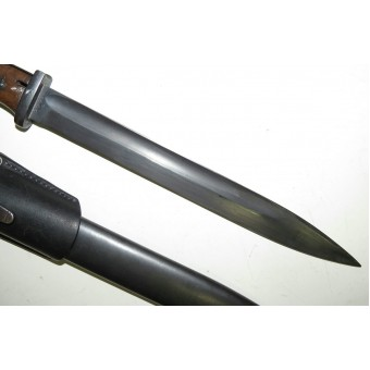 K98 bayonet, practically mint condition, same serial numbers.. Espenlaub militaria