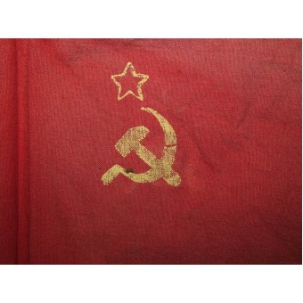 Patriotic USSR flag for parades and other celebrations. Espenlaub militaria