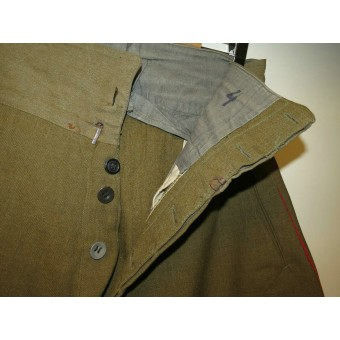 RKKA officers breeches for artillery or armored troops.. Espenlaub militaria