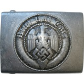 Hitler Jugend buckle, aluminum, marked M4/39 RZM