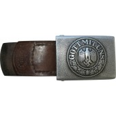 Wehrmacht buckle for enlisted man, aluminum