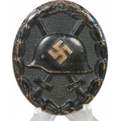 1939 German black wound badge. Brass