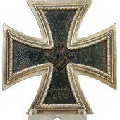 Iron cross first class 1939. Unmarked