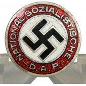 NSDAP member pin. 18 mm, early GES.GESCH marked