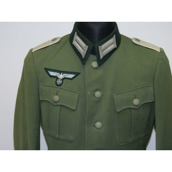 German Wehrmacht heer infantry lieutenant private purchased tunic. Espenlaub militaria