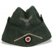 M38 Wehrmacht Infantry side hat with white soutache