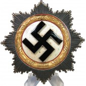 Deutsches Kreuz in Gold -German cross in gold marked 20