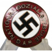 NSDAP member badge very early non-RZM example. 24,2 mm