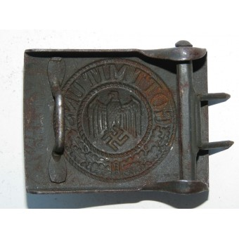 Wehrmacht Heer CTD 1943 marked steel buckle. Espenlaub militaria