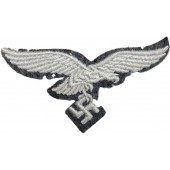 Luftwaffe breast eagle on a felt base, unused