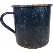Enameled mug, 9 cm for the Red Army, made in 1940-41
