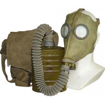 Red Army gasmask BN-T5 with mask 08. Early type.. Espenlaub militaria