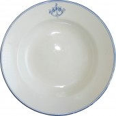 RKVMF- Red fleet Mess Hall Dinner plate
