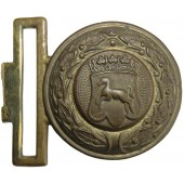 3rd Reich State Forestry officer's buckle Lower Saxony