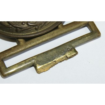 3rd Reich State Forestry officers buckle Lower Saxony. Espenlaub militaria