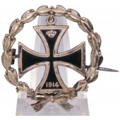 German WW1 Patriotic badge in the form of a 1914 Iron Cross