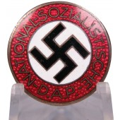 NSDAP member badge for the lapel loop - Zimmermann M 1/72 RZM